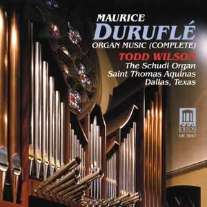 Maurice Duruflé: Complete Organ Music