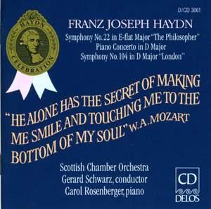 Haydn: Symphony No. 22 in E flat major 'The Philosopher', etc.
