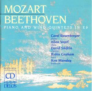 Beethoven & Mozart: Quintets for piano & winds Product Image