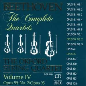 Beethoven: Complete String Quartets (Vol. IV) Product Image