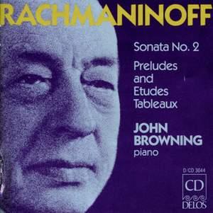 Rachmaninoff: Piano Sonata No. 2, Preludes & Études-Tableaux