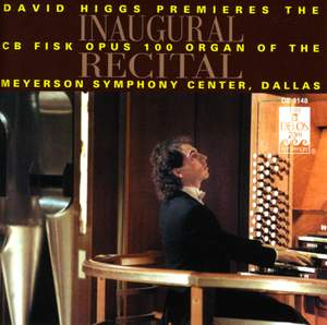 Inaugural Recital - Fisk Organ, Dallas