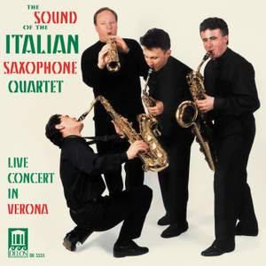 The Sound of the Italian Saxophone Quartet