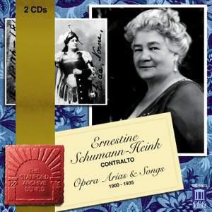 Ernestine Schumann-Heink - Opera Arias & Songs