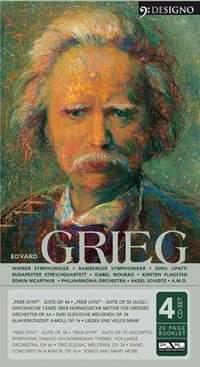 Grieg, Edvard: Edvard Grieg (4CD)