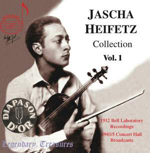 Jascha Heifetz Collection (Vol. 1)