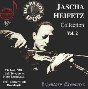 Jascha Heifetz Collection (Vol. 2)