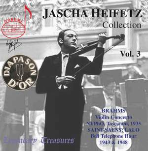 Jascha Heifetz Collection Vol. 3
