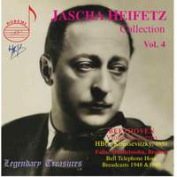 Jascha Heifetz Collection Vol. 4