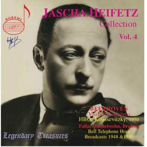 Jascha Heifetz Collection Vol. 4