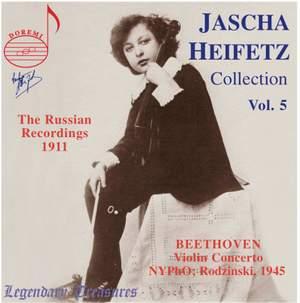 Jascha Heifetz Collection Vol. 5