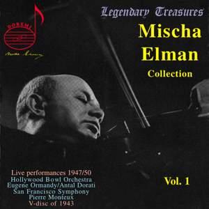 Mischa Elman Collection Vol. 1 Product Image