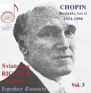 Sviatoslav Richter Archives, Volume 3