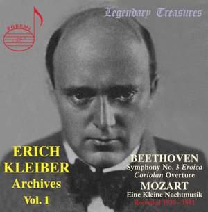 Erich Kleiber Archives (Vol. 1)