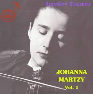 Johanna Martzy, Vol.1 Product Image