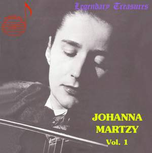 Johanna Martzy, Vol.1