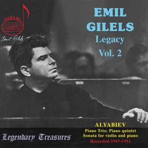 Emil Gilels Legacy Vol. 2
