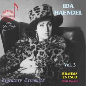 Ida Haendel Vol. 3