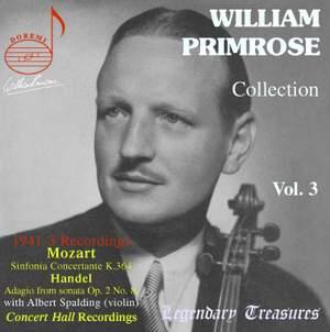 William Primrose Collection (Vol. 3)