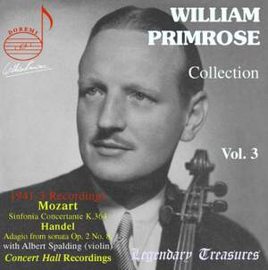 William Primrose Collection (Vol. 3)