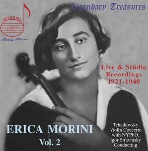Erica Morini Vol. 2