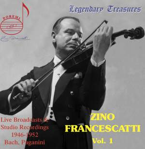 Zino Francescatti Vol. 1