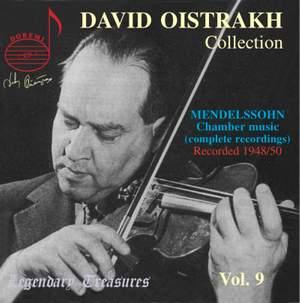 David Oistrakh Collection Volume 9