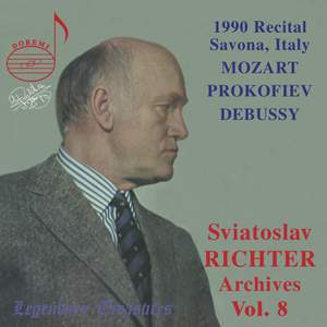 Sviatoslav Richter Archives, Volume 8