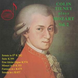 Colin Tilney Plays Mozart (Vol. 2)