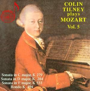 Colin Tilney Plays Mozart (Vol. 5)