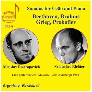 Rostropovich & Richter: Sonatas for Cello and Piano
