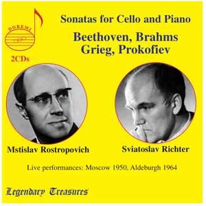 Rostropovich & Richter: Sonatas for Cello and Piano
