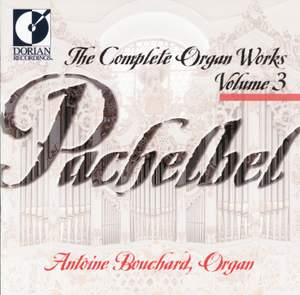 Pachelbel: Complete Organ Works, Vol. 3 Product Image