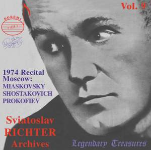 Sviatoslav Richter Archives, Volume 9
