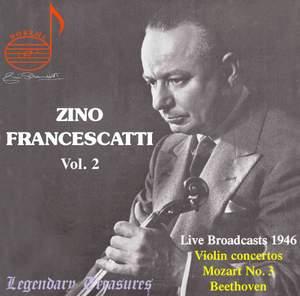 Zino Francescatti Vol. 2