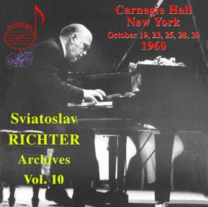 Sviatoslav Richter Archives, Volume 10