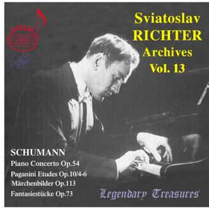 Sviatoslav Richter Archives, Volume 13 Product Image