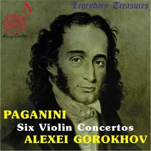 Paganini: Violin Concertos Nos. 1-6 Product Image