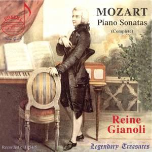 Mozart: Piano Sonatas 1-18, etc.