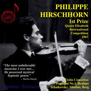 Philippe Hirschhorn - Violin Concertos