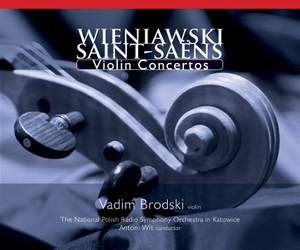 Masterpieces for Violin and Orchestra: Wieniawski & Saint-Saëns