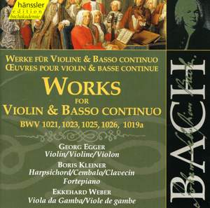 Bach: Works for Violin & Basso Continuo