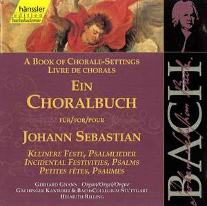 A Book of Chorale Settings for Johann Sebastian