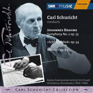 Brahms: Symphony No. 2 in D major, Op. 73, etc.