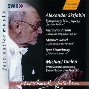 Scriabin: Symphony No. 3, Busoni: Berceuse élégiaque