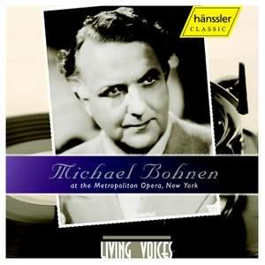 Michael Bohnen At The Metropolitan Opera, New York