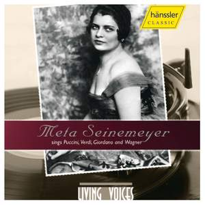 Meta Seinemeyer Sings from Operettas by Puccini, Verdi, Giordano & Wagner