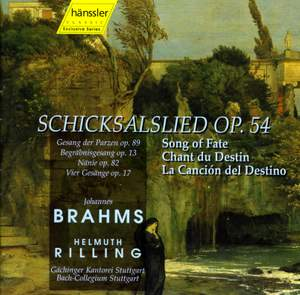 Brahms: Works for Choir and Orchestra