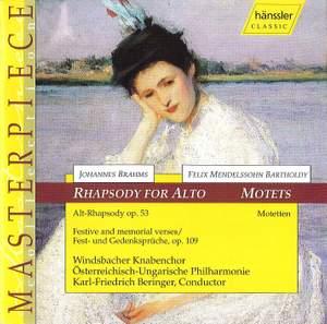 Windsbacher Knabenchor: Brahms/Mendelssohn-Rhapsodies