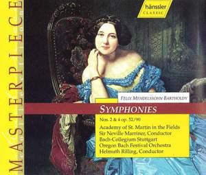 Mendelssohn: Symphonies Nos. 2 & 4